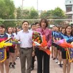 Phòng Giáo dục và Đào tạo thị xã Ba Đồn tổ chức giải bóng chuyền chào mừng 08/3/2019.